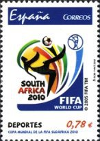[Football World Cup - South Africa, type FRK]