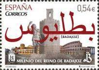 [The 100th Anniversary of the Kingdom of Badajoz, type GEO]