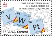 [International Year of the Periodic Table, type GXI]