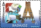 [12 Month, 12 Stamps - Badajoz, type GXN]