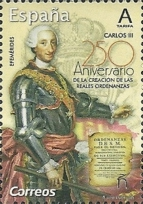 [The 250th Anniversary of the Royal Ordinances of King Charles III of Spain, 1716-1788, type GXQ]