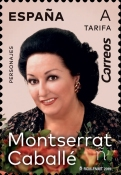[The 1st Anniversary of the Death of  Montserrat Caballé, 1933-2018, type GYW]