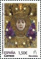 [The 100th Anniversary of the Coronation of the  Virgin of El Rocío, type GYY]