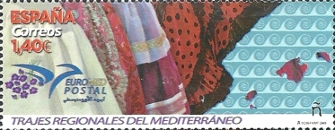 [EUROMED Issue - Traditional Costumes, type GZH]