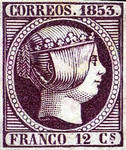 [Queen Isabella II - Looking Right, type H2]