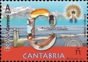 [12 Month, 12 Stamps - Cantabria, type HAD]