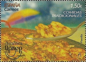 [America UPAEP Issue - Typical Meals, type HAG]