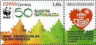 [WWF Charity Stamp - Nature Protection, type HCC]