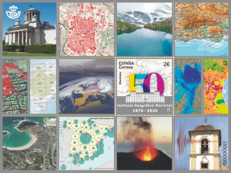 [The 150th Anniversary of the IGN - Spanish National Geographic Institute, type HCD]