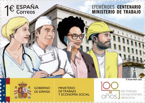 [The 100th Anniversary of the Ministry of Employment, type HCK]