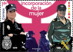[Incorporation of Women to the National Police and Civil Service, type HDT]