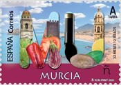[12 Months, 12 Stamps - Murcia, type HEF]