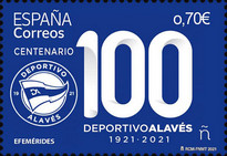 [The 100th Anniversary of the Deportivo Alaves Sports Club, type HER]