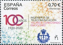 [The 100th Anniversary of Telecommunications Engineer Degree in Spain, type HFT]