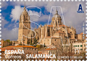 [12 Months 12 Stamps - Province of Spain - Salamanca, type HGC]
