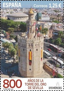 [The 800th Anniversary of the Gold Tower of Seville, type HGE]