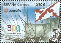 [The 500thh Anniversary of Logroño, type HGH]