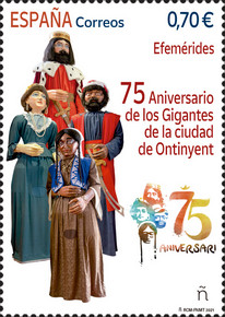 [The 75th Anniversary of the Giants of the City of Ontinyent, type HGJ]