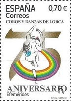 [The 75th Anniversary of the Choir and Dance Groups of Lorca, type HHD]
