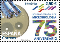 [The 75th Anniversary of the Spanish Society of Microbiology, type HHP]