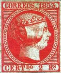 [Queen Isabella II - Looking Right, type I]