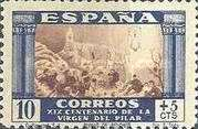 [The 1900th Anniversary of the Appearance of the Virgin of Pillar, Saragossa - Surtaxed, type LJ]