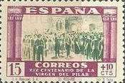 [The 1900th Anniversary of the Appearance of the Virgin of Pillar, Saragossa - Surtaxed, type LK]