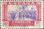 [The 1900th Anniversary of the Appearance of the Virgin of Pillar, Saragossa - Surtaxed, type LK1]