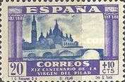 [The 1900th Anniversary of the Appearance of the Virgin of Pillar, Saragossa - Surtaxed, type LL]