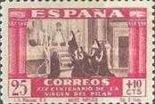 [The 1900th Anniversary of the Appearance of the Virgin of Pillar, Saragossa - Surtaxed, type LM]