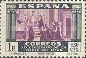 [The 1900th Anniversary of the Appearance of the Virgin of Pillar, Saragossa - Surtaxed, type LM1]