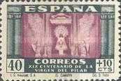 [The 1900th Anniversary of the Appearance of the Virgin of Pillar, Saragossa - Surtaxed, type LN]