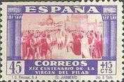 [The 1900th Anniversary of the Appearance of the Virgin of Pillar, Saragossa - Surtaxed, type LO]