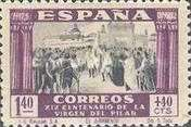 [The 1900th Anniversary of the Appearance of the Virgin of Pillar, Saragossa - Surtaxed, type LO1]