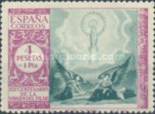 [The 1900th Anniversary of the Appearance of the Virgin of Pillar, Saragossa - Surtaxed, type LP]