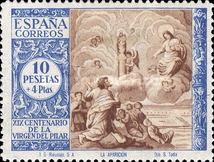 [The 1900th Anniversary of the Appearance of the Virgin of Pillar, Saragossa - Surtaxed, type LQ]