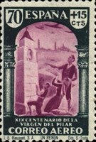 [Airmail - The 1900th Anniversary of the Appearance of the Virgin of Pillar, Sarragosa, type LS1]