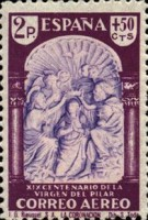 [Airmail - The 1900th Anniversary of the Appearance of the Virgin of Pillar, Sarragosa, type LV1]