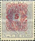 [No. 52 Overprinted in 5 Types, Typ H]