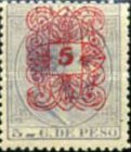 [No. 52 Overprinted in 5 Types, Typ H2]
