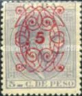 [No. 52 Overprinted in 5 Types, Typ H3]