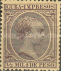 [Newspaper Stamps - King Alfonso XIII, Typ M6]