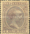 [Newspaper Stamps - King Alfonso XIII, Typ M8]