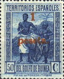 [Stamp of 1934 Surcharged in Red, Typ AA]