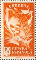 [Colonial Stamp Day - Common Genet, Typ BD1]