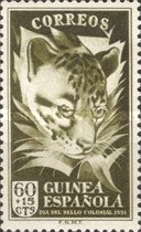 [Colonial Stamp Day - Common Genet, Typ BD2]