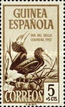 [Stamp Day - Birds, Brown-cheeked Hornbill, Typ BI]