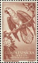 [Charity Stamps - Parrots, type CE]