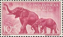 [Stamp Day - Elephants, Typ CH]