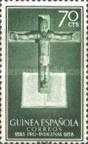 [The 75th Anniversary of the Secondment of Catholic Missionaries in The Gulf of Guinea, Typ CP1]